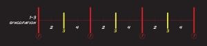 1:3 sync chart
